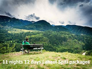 11 nights 12 days lahaul spiti packages