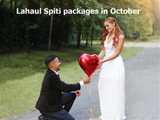 Lahaul spiti packages in october